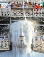 Mahamastakabhisheka unfolds in Shravanabelagola amid rituals and visual splendour