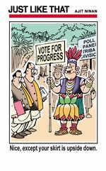 Vote for progress