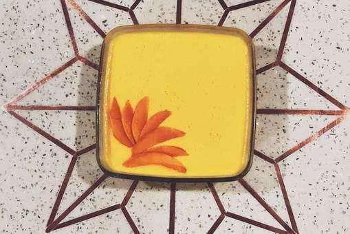 Holi Thandai Pudding