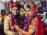 Singer Ankit Tiwari ties the knot with Pallavi Shukla in Kanpur