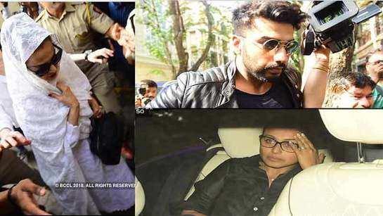 Sridevi's demise: Rekha, Rani Mukerji, Karan Johar visit Anil Kapoor's residence to offer condolences