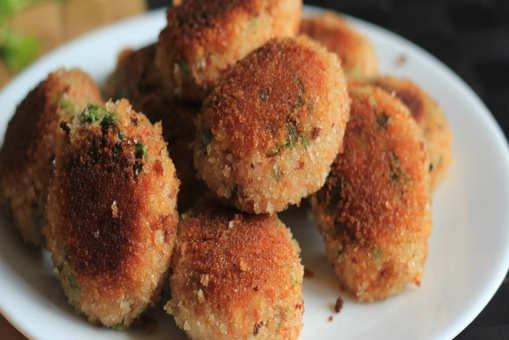 Sweet Rice Cutlets