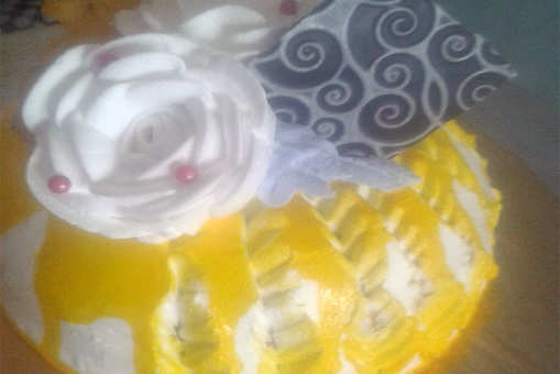 Ragi Saffari Cake