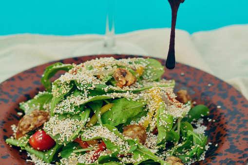 Amaranth Walnut Salad