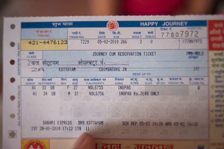 Image result for train ticket