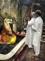 In Pics: Rajinikanth goes on pilgrimage to Jammu