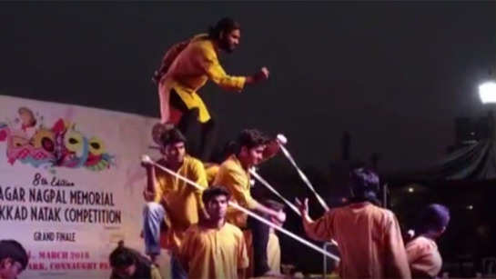 A blend of theatre, music and dance at this annual competition hosted by Ramanujan College