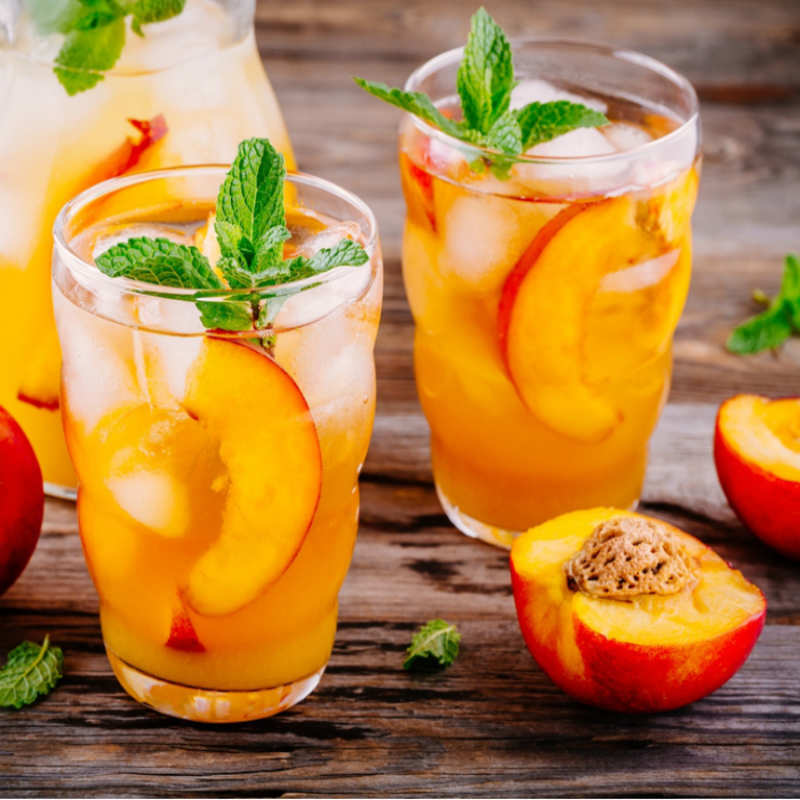 Peach and Ginger Cooler Recipe: How to Make Peach and Ginger ...