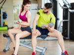 Talks about fitness goals and plans long-term activities with you