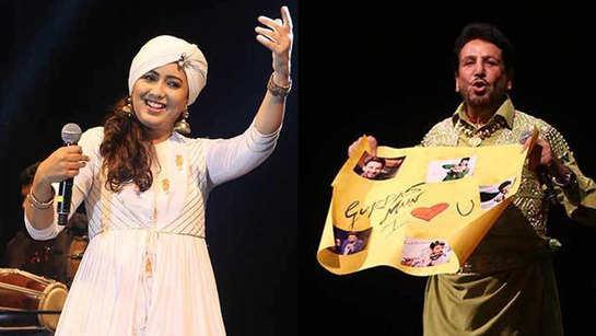 Gurdas Maan and Harshdeep Kaur enthrall Delhi audience
