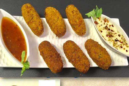 Cheese  & Vegetable Croquettes