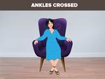 Ankles crossed
