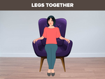 Legs together