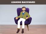 Leaning backward