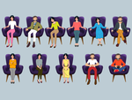 Choose your favorite sitting position…