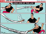 Long arm of the law
