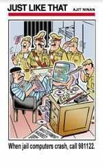 Jail computers