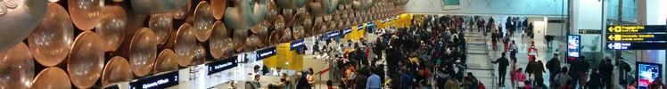 IGI Airport in New Delhi