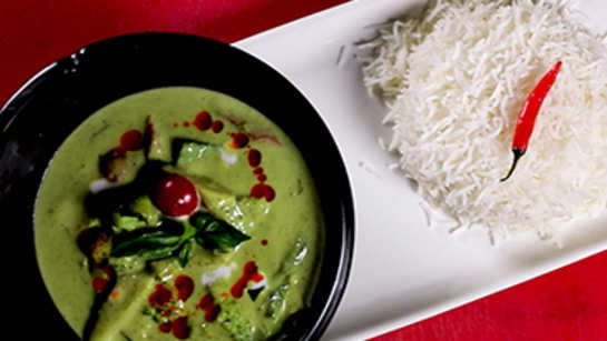 Watch: How to make Thai Veg Green Curry