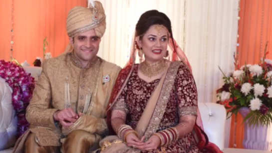 Politicos turn up to bless 2015 IAS toppers Tina Dabi, Athar at their wedding reception