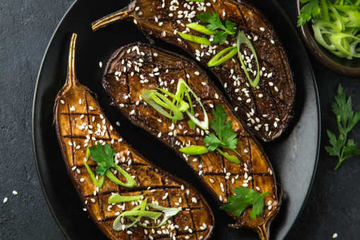 Miso-Glazed Eggplant