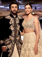 Ranbir Kapoor, Deepika Padukone sizzle on the ramp