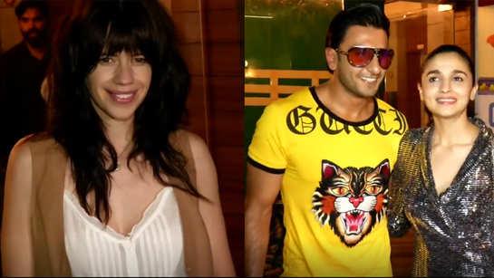Ranveer Singh, Alia Bhatt, Zoya Akhtar and Divine party it up at 'Gully Boy' wrap up bash
