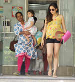 ​Mira Kapoor and Misha spotted in the city