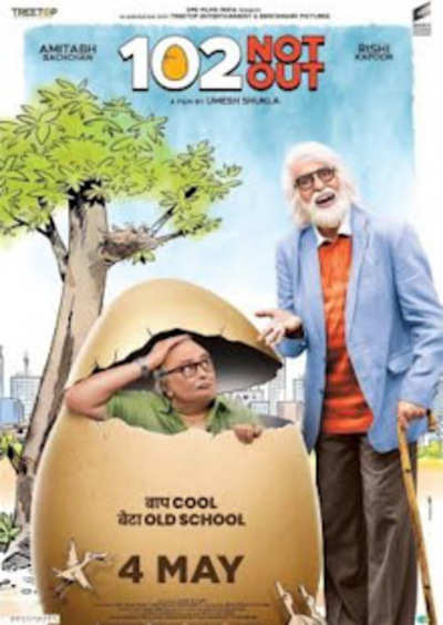 102 Not Out Movie Review {3 5/5}: A fun family entertainer