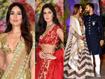 Who wore what at Sonam Kapoor and Anand Ahuja's wedding reception
