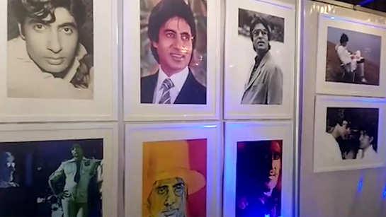 Watch: Photo exhibition of legendary actor Amitabh Bachchan