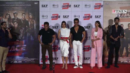 Salman Khan's 'Race 3' trailer launch event