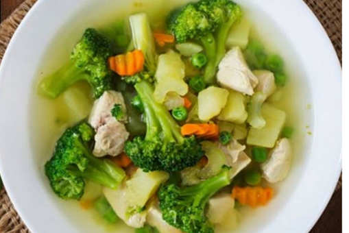 Chicken Veggie Broth