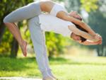 Added bonus: couple yoga