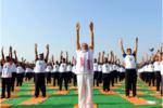International Yoga Day celebration in India