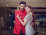 Newlyweds Rubina Dilaik and Abhinav Shukla make for a stunning couple at their reception