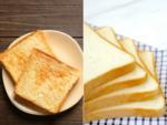 Toasted bread vs raw bread