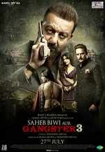 Sanjay Dutt shares new poster of Saheb Biwi Gangster 3