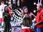 Mumbai rains: Vishal Dadlani, Neha Kakkar, Anu Malik enjoy vada pav party on the sets of Indian Idol 10