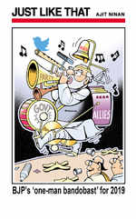 BJP's one-man bandobast