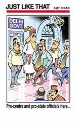 Delhi govt officials
