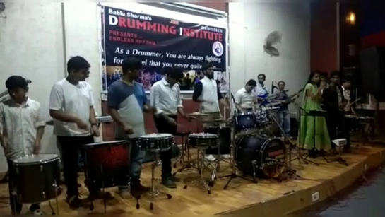 Drummers of all age rock Indore