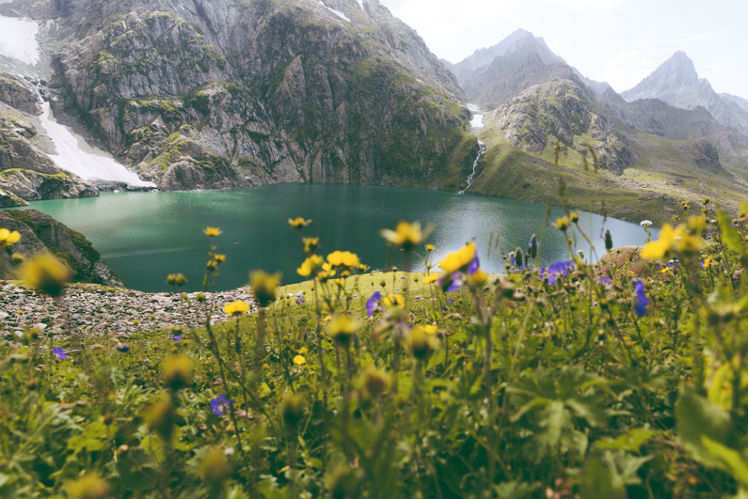 Seven Lakes of Kashmir