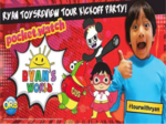 Ryan will sell his own brand of toys on Walmart