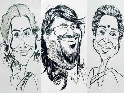 Attend a caricature workshop