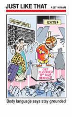 Maharaja grounded?
