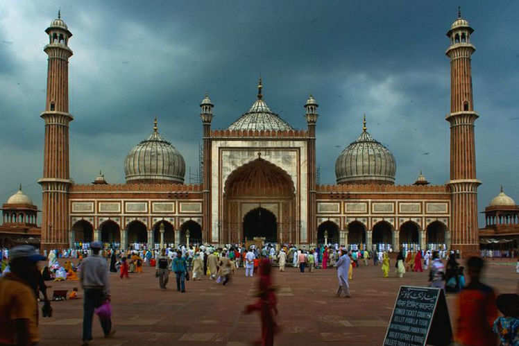 famous mosque in india
