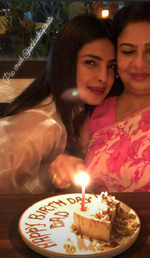 Priyanka Chopra celebrates late dad's birth anniversary with mom and Janhvi Kapoor