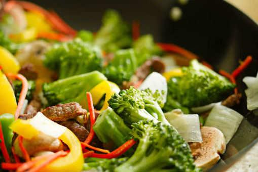 Stir-fried Exotic Oriental Vegetables