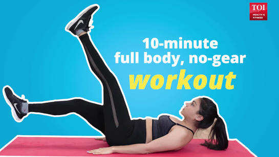 10-minute full body, no-gear workout